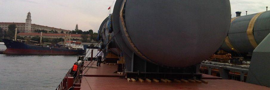 Gemi Güverte Üstü Lashing